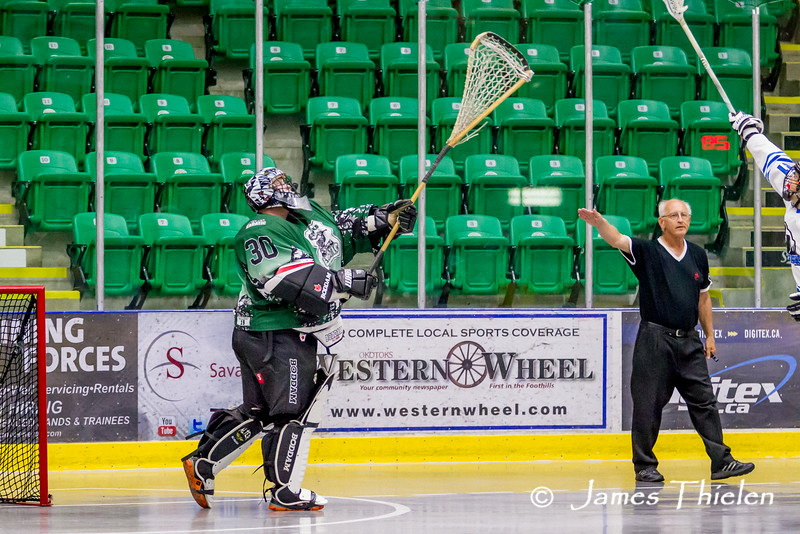 Playoffs, July 25, 2014 Okotoks Erratic vs Blackfalds Silverbacks