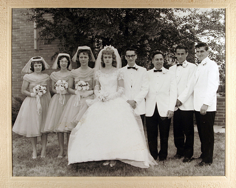 Uncle Butch & Aunt Sharons Wedding Party.JPG