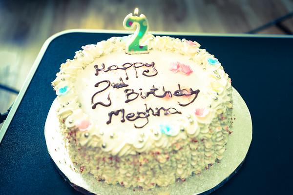 Meghna's Second Bday