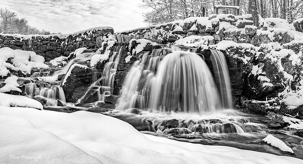 Waterfalls in the Winter