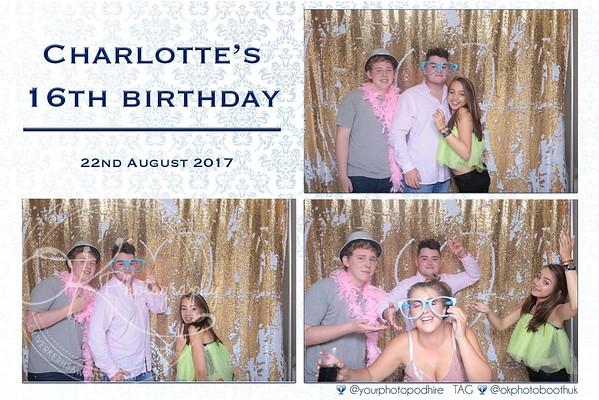 Charlotte 16th birthday