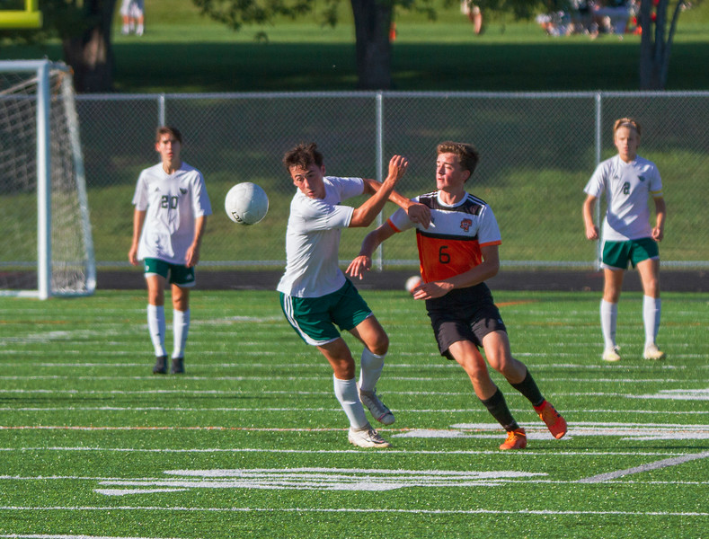Holy Family Varsity Soccer vs. Delano, 9/19/19: Casey Gess '20 (3)