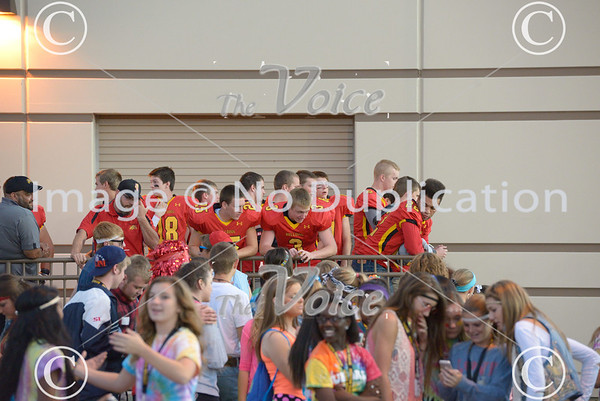 West Chicago High School Football at Batavia High School for homecoming game in Batavia, Ill 9-27-13