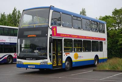 Clacton Bus Rally June 2012