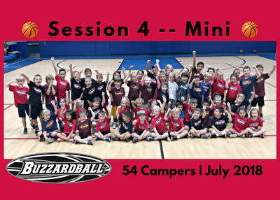 SESSION 4 | Mini | 54 Campers