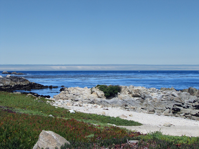 North of the Pacific Grove Municipal Golf Course