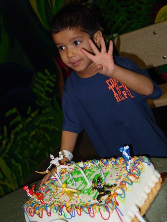 12-2004 Sagar 4th Birthday