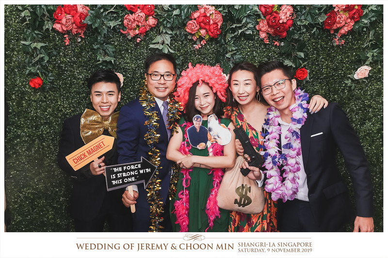 Wedding of Jeremy & Choon Min   © www.SRSLYPhotobooth.sg