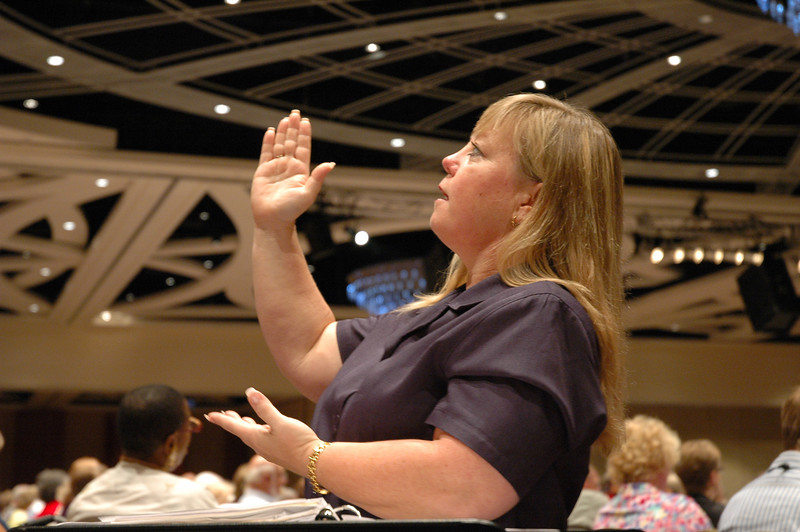 Worship services are communicated in American Sign Language.