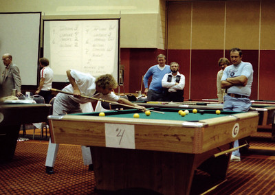 1980 BCA National 8 Ball Championship - photos by Bill Porter