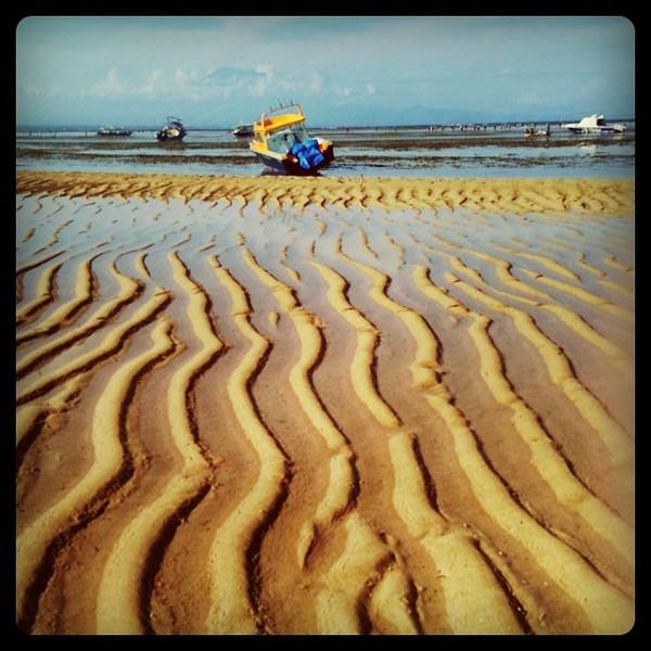 Low tide in Sanur - Bali