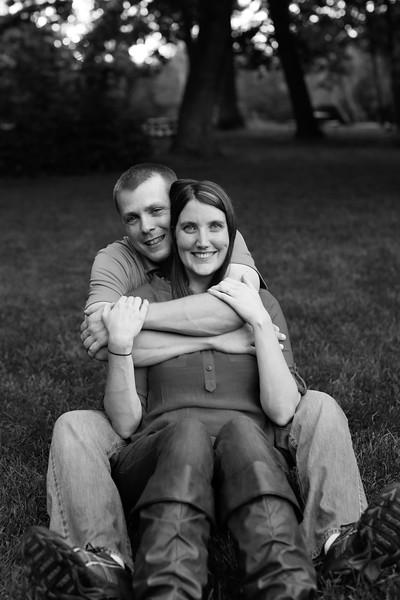 Amy & Matt's Endicott Park Engagement