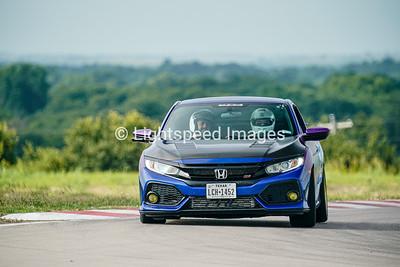 64 Blue/Purple Honda Civic