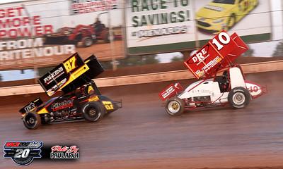 Sharon Speedway - All Star Sprints - 7/12/20 - Paul Arch