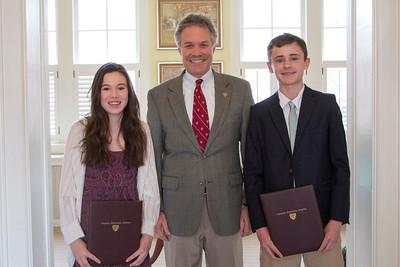 Sparkman Scholarship Award Winners