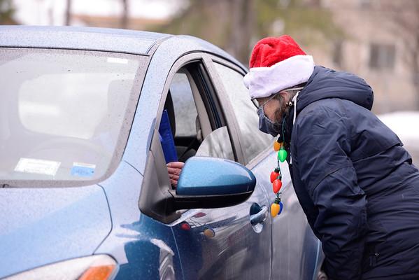 2020 St. Monica Christmas drive-through