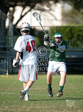 2011-04-01 Lacrosse JV Boys Strake Jesuit @ St. John's
