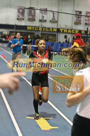 400M Girls - January 23 MITS Meet at UM