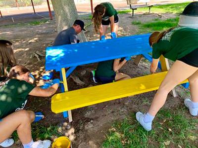 2019 Junior West Regional Redmond community service