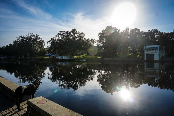 River Walks, Friends, Couple, DrLight, Summit ALS, New Port Richey FL 2 16 2016