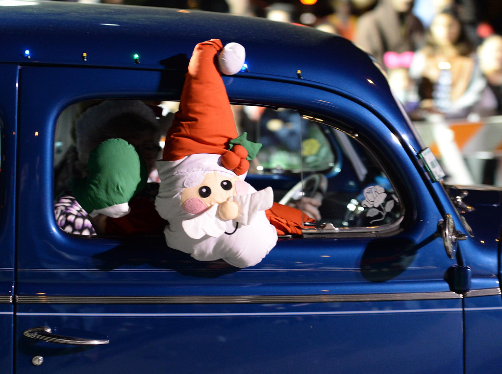 . The 60th annual Daisy Avenue Parade in the Wrigley neighborhood Saturday, December 13, 2013, in Long Beach, CA.  Early Times Car Club. Photo by Steve McCrank/DailyBreeze