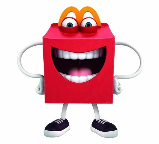". <p><b> Fast food giant McDonald�s has drawn some criticism over its �creepy, even terrifying� new mascot, which goes by the name of � </b> <p> A. Happy <p> B. Ronny <p> C. Cannibal Lecter <p><b><a href=\' http://www.theatlantic.com/health/archive/2014/05/this-new-mcdonalds-mascot-is-terrifying/371390/\' target=""_blank\"">LINK</a></b> <p>   (McDonald\'s)"