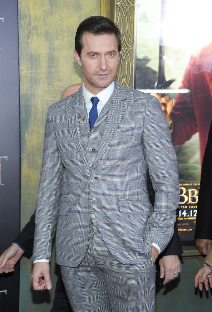 "Description of . Richard Armitage  attends ""The Hobbit: An Unexpected Journey\"" New York premiere benefiting AFI at Ziegfeld Theater on December 6, 2012 in New York City.  (Photo by Michael Loccisano/Getty Images)"
