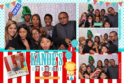 Kanoe's 1st Birthday (Mini Open Air Photo Booth)