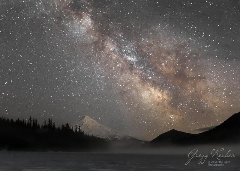 Lost Lake and Mt Hood