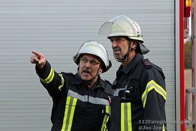 Übung Feuerwehr Baesweiler