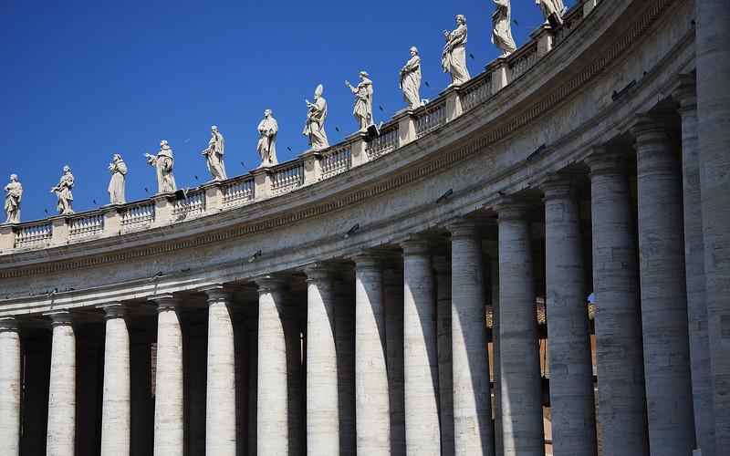 Bernini's Colonade: St. Peter's Square, Vatican City