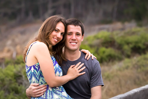 Laura and Brent | engagement photos | Point Lobos