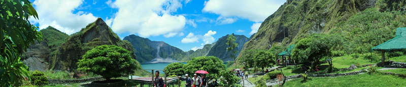 Mt. Pinatubo Panorama Shots