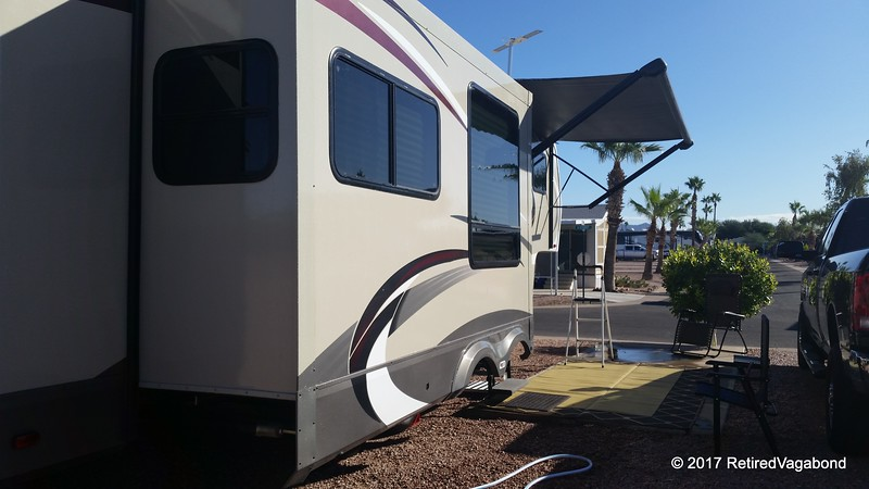 Cleaning Up - Winter Camp Mesa AZ