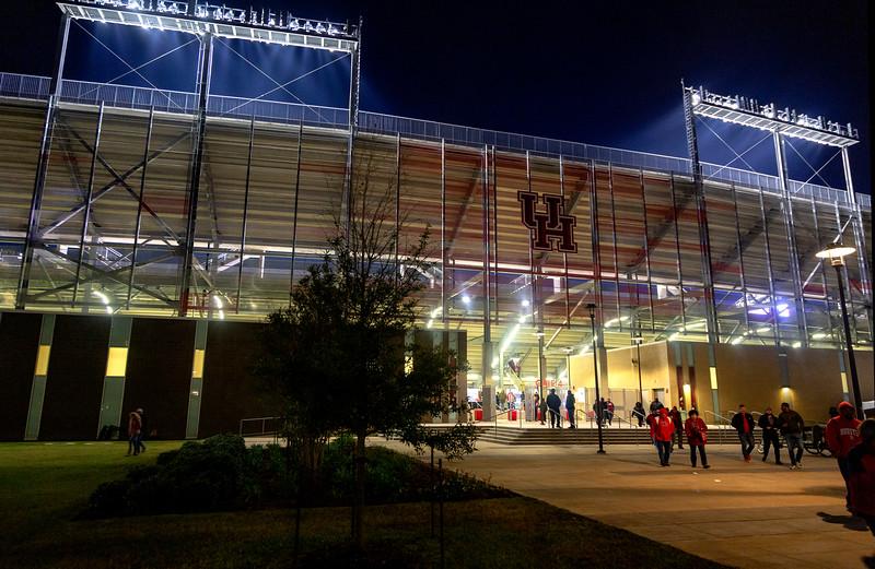 ... as we leave TDECU Stadium.
