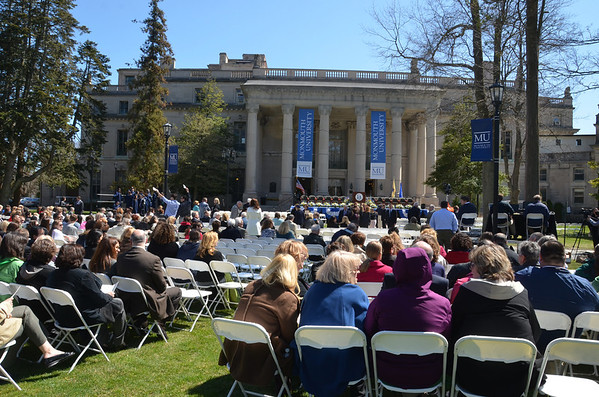 MU - President Brown's Inauguration - April 2014