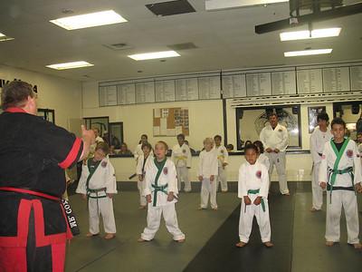 11-21-2008 Color Belt Testing