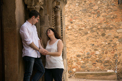 Reportaje de pareja | tesoros en la ciudad | Preboda