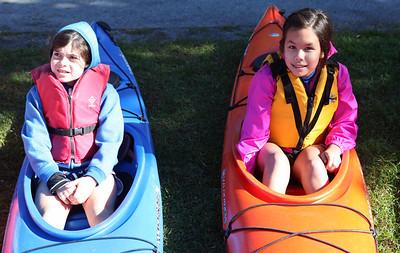 Grade 6 Kayaking