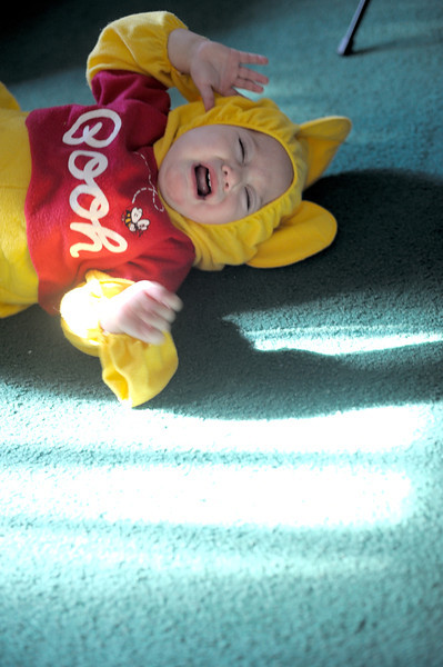 10/8/11 Micah in the Pooh Bear costume