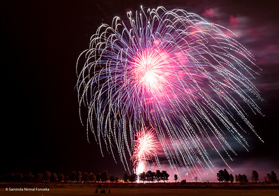 Fireworks: 4th of July 2015