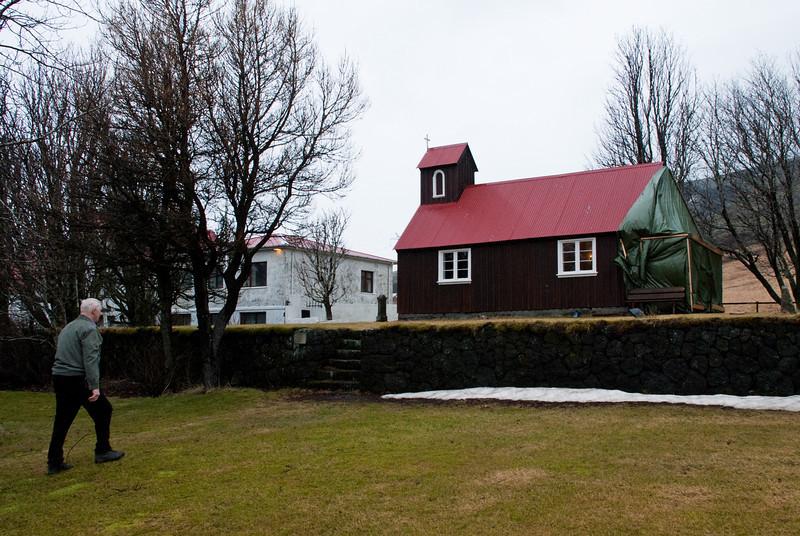 Kirkjan að Búrfelli í Grímsnesi