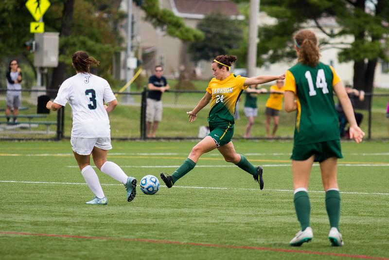 Clarkson Athletics: Women Soccer vs. Johnson State. Clarkson win 8-1