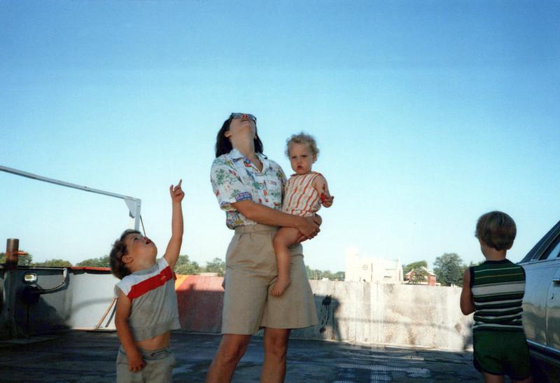 1985 AJ, Elaine and John on Car Ferry.jpeg