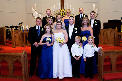 Sara & Jarrod Wedding - Formals