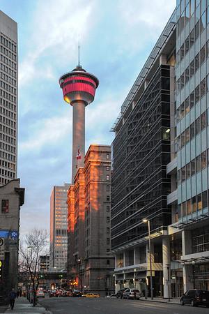 4 2013 Apr 11 Calgary Early Morning Reflection