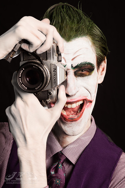 Joker, Harley, and Ivy Cosplay Shoot
