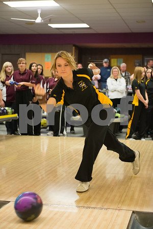 11-20-12 Lockport vs Andrew Girls Bowling