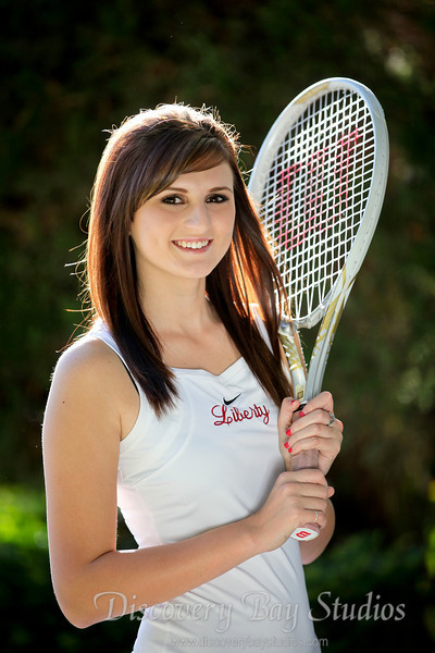 Liberty Girls Tennis 10-17-2012
