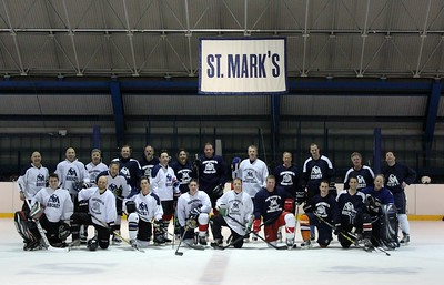 Alumni Hockey Game Winter 2017